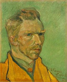 Van Gogh Self-portrait, 1888 - 07