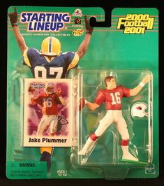 JAKE PLUMMER  ARIZONA CARDINALS 20002001 NFL Starting Lineup Action Figure  Exclusive NFL Collector Trading Card -- To view further for this item, visit the image link.Note:It is affiliate link to Amazon. #c4c