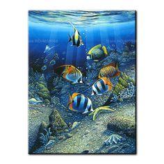 Underwater World - Sea Life Art, Sea Art, Ocean Life, Tier Wallpaper, Animal Wallpaper, Iphone Wallpaper, Colorful Fish, Tropical Fish, Aquarium Live Wallpaper