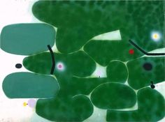 The Green Earth - Victor Pasmore http://medverf.blogspot.nl/
