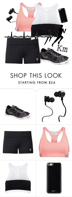 """Untitled #1558"" by moria801 ❤ liked on Polyvore featuring Asics, Monster, Tory Sport, adidas, T By Alexander Wang and Gooey"