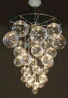 DIY Bubble Chandelier