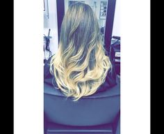 Ombré done by our brilliant stylist Laura  #ombre #hair #haircolor #balayagehair #balayage
