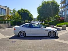 E46 bmw m3 alpine white