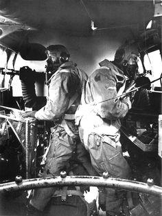 Heinkel He-111 side gunners.