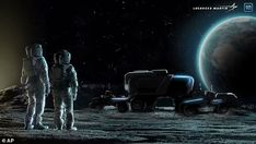 Lockheed Martin and GM building an electric Moon buggy