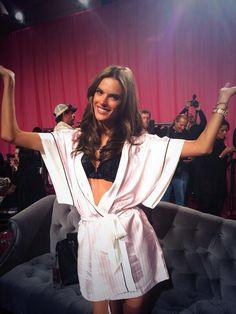 #Backstage At The Victoria's Secret Fashion Show 2013 - #fashion #girls #VSFashionShow #models #lingerie - rossdujour.com
