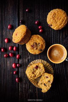 Jaglane muffinki dyniowe