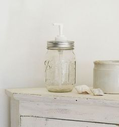 bocal à savon made home