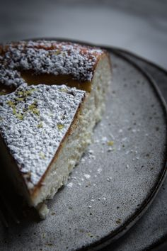 White Chocolate Ricotta Cheesecake with Lemon, Cardamom, and Nutmeg  | New Thanksgiving Classic