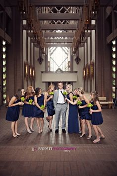 wedding colors- love royal blue with a bright color