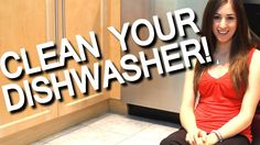 How to Clean Your Smelly Dishwasher! Kitchen Appliance Cleaning Ideas (F...