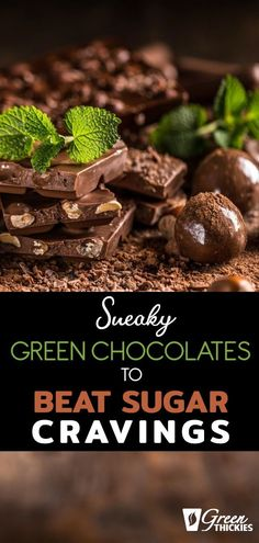 These chocolates are gorgeous, you can make them in 5 minutes and they're actually good for you! They will help you beat your sugar cravings in no time! Raw Vegan Recipes, Gluten Free Recipes, Beef Recipes, Whole Food Recipes, Healthy Recipes, Healthy Meal Replacement Shakes, Spinach Benefits, Spinach Recipes