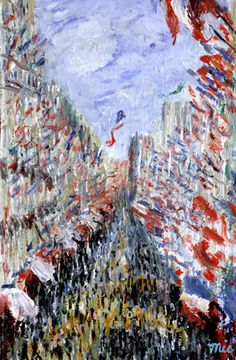 bastille day painting