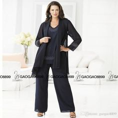 Cheap Navy Mother Of The Bride Pant Suits Elegant Plus Size Chiffon Pants Suit Wedding Outfits 2016 Vestido De Madrinha Designer Mother Of The Bride Fall Mother Of The Bride Dresses From Gaogao8899, $110.36| Dhgate.Com