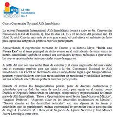 Cuarta Convención Nacional de @Alfa_Mexico