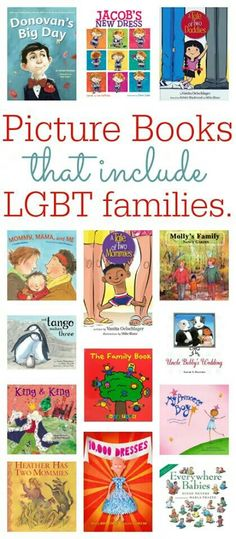 Lgbt family books