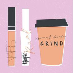 Monday morning essentials illustration by Caroline Mackay