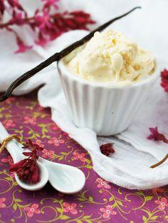 Vanilla bourbon ice cream