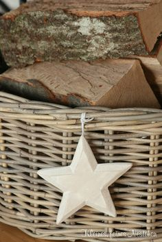 log basket - the weather has definitely turned chilly!
