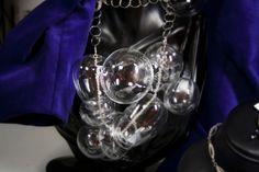 Collana fatta da bolle di vetro bormioli - Comotto gioielli