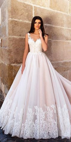 Designer Highlight: Crystal Design Wedding Dresses ❤️ See more: http://www.weddingforward.com/crystal-design-wedding-dresses/ #weddings #dresses #crystaldesign