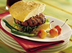 The classic duo of sour cream and onion soup mix jazzes up juicy beef burgers.