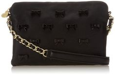 Betsey Johnson Little Bow Chic Cross Body Bag,Black,One Size Betsey Johnson,http://www.amazon.com/dp/B00IPKX4X2/ref=cm_sw_r_pi_dp_u.Jztb0B91GMBC8R