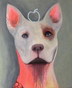 Acryllic on canvas. Streetdog. Dogart, doglover ❤️