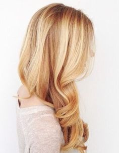 Loose Layered Long Hairstyles with Gorgeous Colors