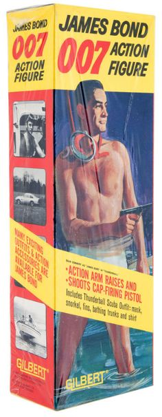 James Bond Gilbert action figure