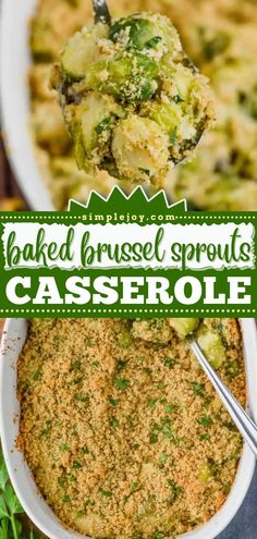 Give this Thanksgiving dinner recipe a try! Oven baked to perfection, this cheesy brussel sprouts casserole is a vegetable side dish even picky eaters will enjoy. Plus, it comes together with just 10 minutes of prep! So easy! Brussel Sprout Casserole, Baked Brussel Sprouts, Thanksgiving Dinner Recipes, Dinner Dishes, Vegetable Side Dishes, Picky Eaters, Oven Baked, Side Dish Recipes, Mashed Potatoes