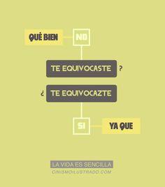 La vida es sencilla, por CinismoIlustrado.com