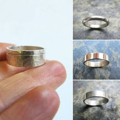 I can make #rings in any size requested, including half sizes!  #weddingband #handmadeweddingrings #weddingrings