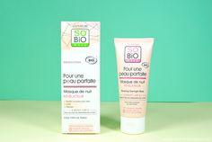 Le masque de nuit révélateur de So'Bio étic So Bio, Shampoo, Personal Care, Lifestyle, Bottle, Beauty, Overnight Mask, Fashion Styles, Self Care