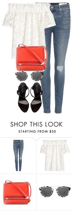 """Untitled #2677"" by elenaday ❤ liked on Polyvore featuring rag & bone, Givenchy, Taylor Morris and Zara"