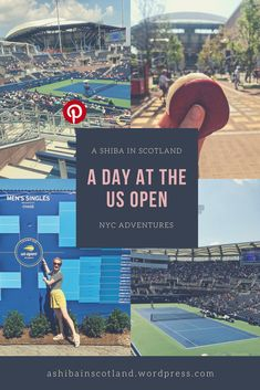 Spend a day with me at the Us Open, Shiba, Baseball Field, The Man, Scotland, Nyc, Posts, Adventure, Messages