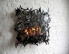 Lovely Gothic Fireplace #homedecor #gothic