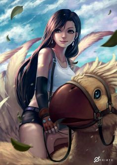 I sooooo love FF7 man that was the bomb.com like I never shipped cloud and tifa sooo harrdd!!