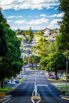 Kiama Streets, New South Wales, Australia by Andy Hutchinson