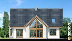 Dom w melisie Minimalist Home, Home Fashion, Villa, Cabin, Mansions, House Styles, Home Decor, Minimalist House, Decoration Home