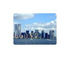Beautiful Nature Mouse Pad New York Twin Towers