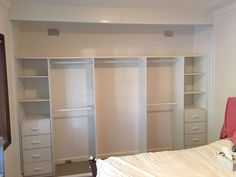 Sliding Mirror Wardrobes – Fantastic Built in Wardrobes Sliding Mirror Wardrobe, Mirrored Wardrobe, Built In Wardrobe, Bedroom Built Ins, Living Room Built Ins, Living Room Shelves, Glass Shelves In Bathroom, Floating Glass Shelves, Bedroom Cupboard Designs