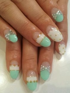 Adorable nail art!