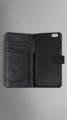 London Leather iPhone 6 Flip Case | Burberry