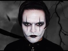The Crow - Makeup Tutorial! second part of my special project