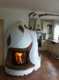 Small Space Living, Living Spaces, Adobe Haus, Earth Bag Homes, Unusual Homes, Rocket Stoves, Natural Building, Konmari, Fireplace Design