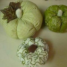 Emy&Annie: fabric pumpkin tutorial