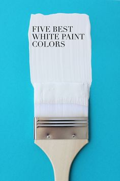 A great list of the best white interior paint colors  /  aliceandlois.com