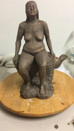 Sculpture en argile Sculpture, Buddha, Statue, Art, Good Woman, Clay, Art Background, Sculpting, Kunst